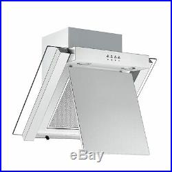 Sharp K-50M22IL2 Fan Oven, KH6V08FT00 Vitroceramic Hob & Angled Glass Hood Pack