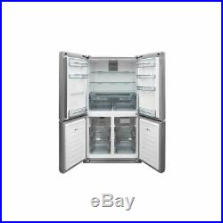 Sharp SJ-F1560EVI-EN American Fridge Freezer With Vac Pack Pro Stainless Steel
