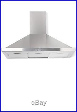 Smeg CC92MX9 90cm Dual Fuel Range Cooker & Stainless Steel Cooker Hood Pack