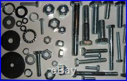 Stainless Steel, Bulk Pack, Over 3,000 Pieces! , M4 To M12, Bolts/nuts/washers