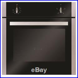 Stainless Steel CDA Electric Oven & 60cm Cookology Built-in Gas Hob Pack
