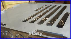 Stainless Steel Flat Pack Rugged Barbeque VW Campervan Style 6 Elements Bootes