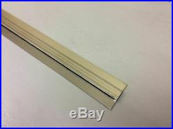 Stainless steel wall cladding sheet divider bar/ jointing strip pack of 10