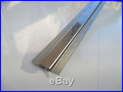 Stainless steel wall cladding sheet divider bar/ jointing strip pack of 20