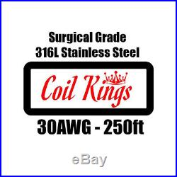 Super Pack 9100ft 316L STAINLESS STEEL WIRE Mixed Wire Set No Substitutes