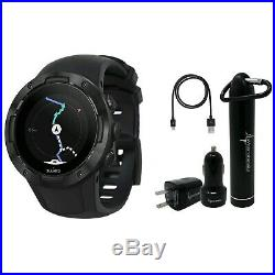 Suunto 5 Multisport GPS Watch G1 with included Wearable4U Power Pack