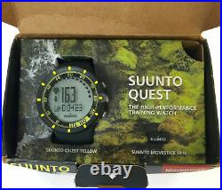 Suunto Quest High-Performance Water Resistance Training Watch Pack