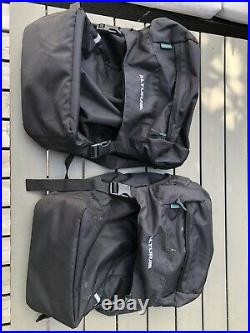 Tubus Cosmo rack with a Pair Of Altura Bags-used once. Bike Packing/Touring