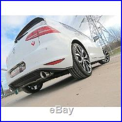 VW30 Cobra VW Golf MK7 GTD 5G 13 without VW Sound Pack Fitted GTI Style Rear
