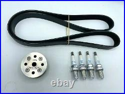 WMW 19% Supercharger Reduction Pulley Pack for R53 02-06 MINI Cooper S and R52