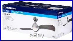Westinghouse 7216100 Solana 48-Inch Two-Blade Indoor Ceiling Fan 2 Pack
