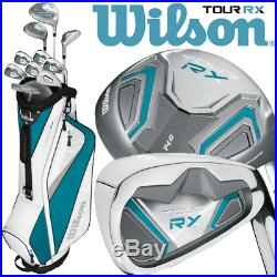 Wilson Tour Rx Ladies 2019 Complete Golf Set +deluxe Golf Cart Bag / +free Gift