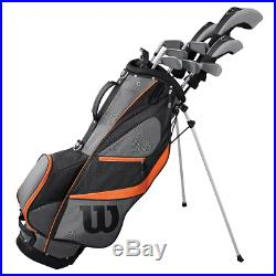 Wilson X31 Mens 2019 Complete Golf Set +deluxe Golf Stand Carry Bag / Left Hand