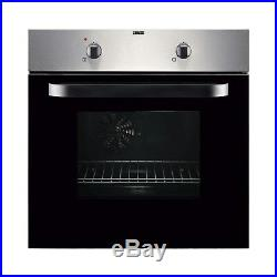 Zanussi Stainless Steel Electric Fan Oven And Gas Hob Pack Cooker