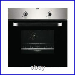 Zanussi ZPVF4131X Electric Fan Oven And Ceramic Hob Pack Stainless Steel